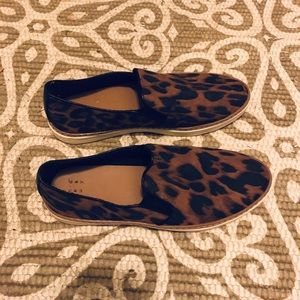 Cheetah Slip-on Sneakers